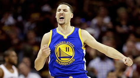 Klay Thompson in attendance at the Washington State Cal ...