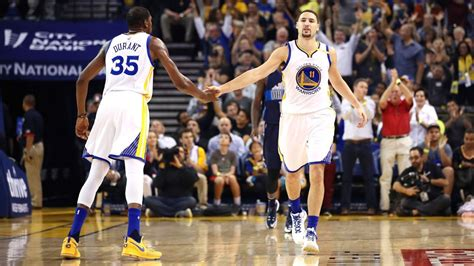 Klay Thompson on the mark for Golden State Warriors ...