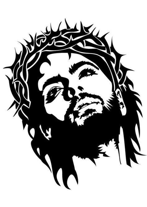 Kleurplaat Jezus - Afb 24692.