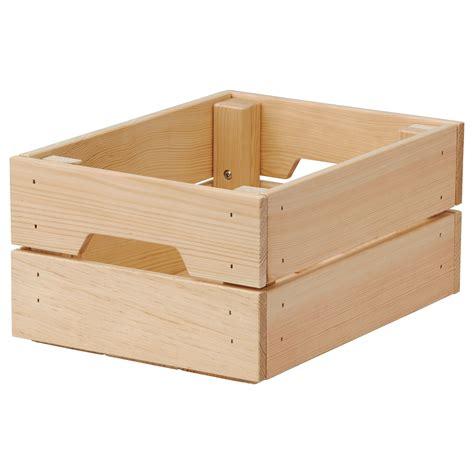 KNAGGLIG Box Pine 23x31x15 cm - IKEA