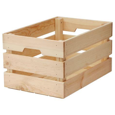 KNAGGLIG Box Pine 46x31x25 cm - IKEA