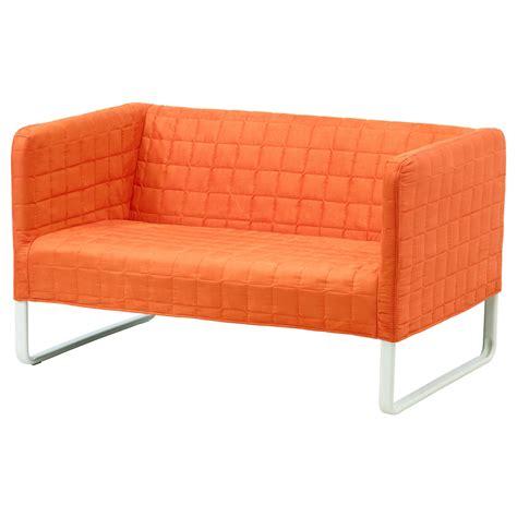 KNOPPARP 2 seat sofa Orange   IKEA
