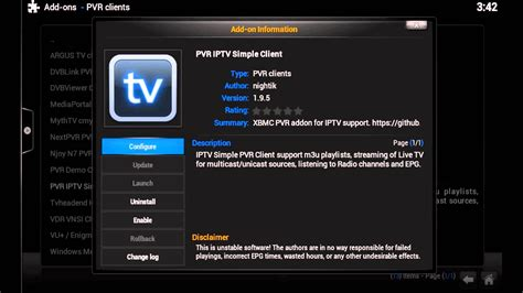 Kodi Tutorials - Setting Up Live TV with IPTV Simple ...