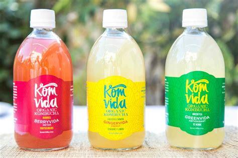 Komvida: kombucha, en vidrio y  made in Spain ...