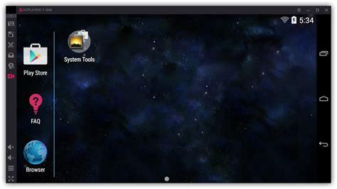 KoPlayer, un emulador gratuito de Android para Windows