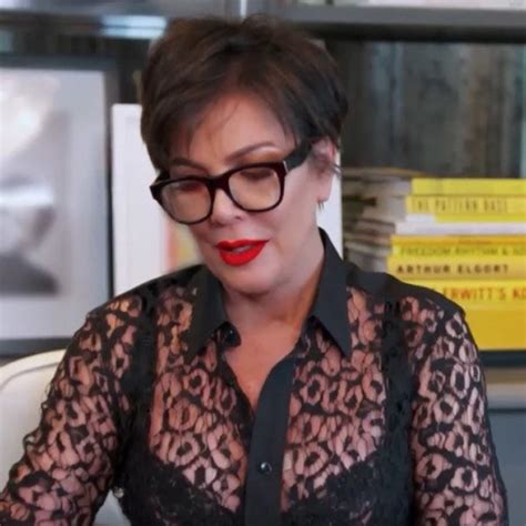Kris Jenner Instagram: Kim Kardashian mum flashes bra in ...