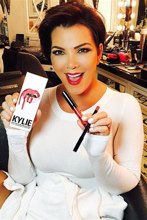 Kris Jenner is 'honoured' to have a lipstick named after her