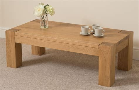 Kuba Oak Large Coffee Table   Free UK Delivery