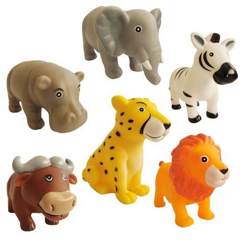 KuKu Bath Toy Set - Jungle Animals