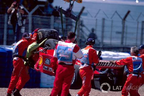 L accident de Michael Schumacher, Ferrari   Grand Prix de ...