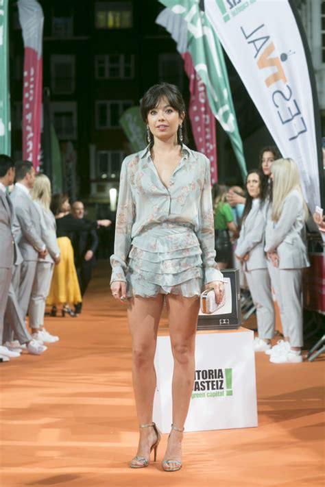 La actriz Anna Castillo posa en el FesTVal para la ...