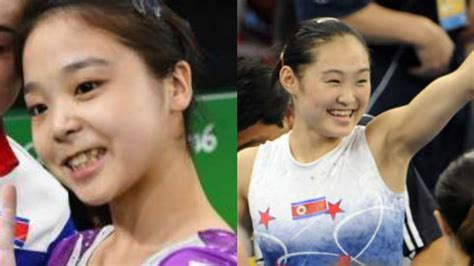 """La adorable """"selfie"""" de dos gimnastas de Corea del Norte y ..."""