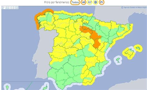 La Aemet activa aviso amarillo por fuertes vientos en Granada