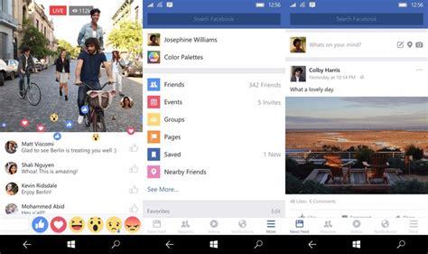 La app oficial de Facebook para Windows 10 Mobile ya ...