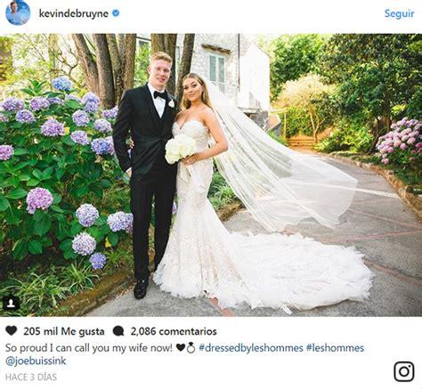 La boda italiana del futbolista Kevin De Bruyne con la ...