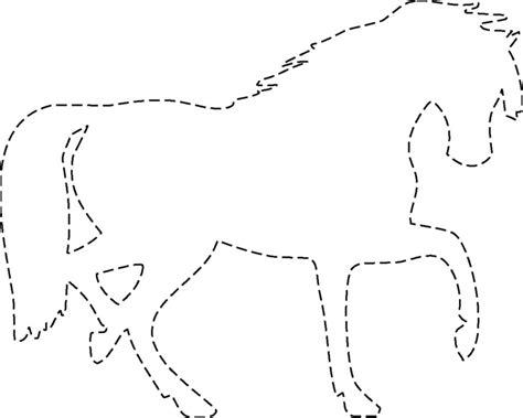 La bolsa de papel: Siluetas de Caballos para Imprimir y ...