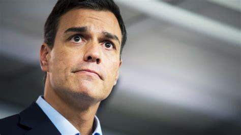 La caída de Pedro Sánchez en directo