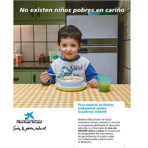 """La Caixa arranca de nuevo su campaña """"contra la pobreza ..."""