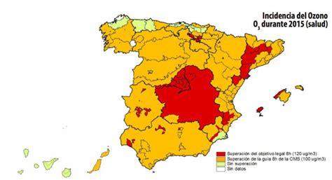 La calidad del aire en España ha empeorado | Ecología | LA ...