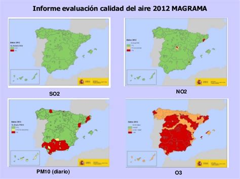 La calidad del aire en España