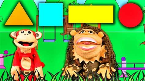 La Canción de las Figuras Geométricas con El Mono Sílabo y ...
