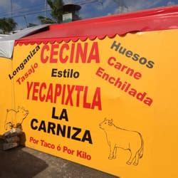 La Carniza Cecina Estilo Yecapixtla   Taquerías ...