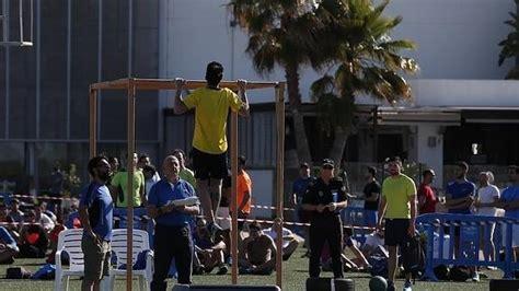 La carrera para ser policía local en Málaga . SUR.es