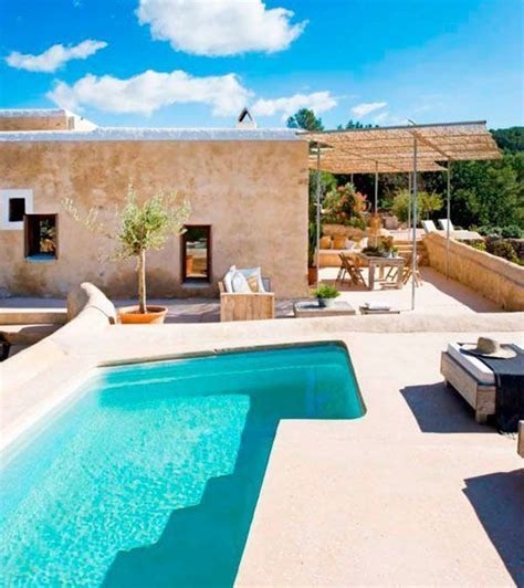 La casa de Nani Marquina en la isla de Ibiza