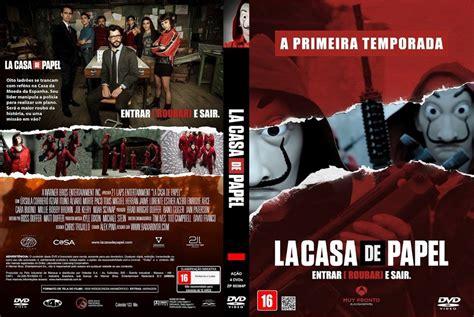 La Casa De Papel 1ª Temporada  4 Dvds    R$ 30,00 em ...