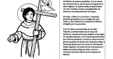 La Catequesis: Recursos Catequesis San Felipe de Jesús