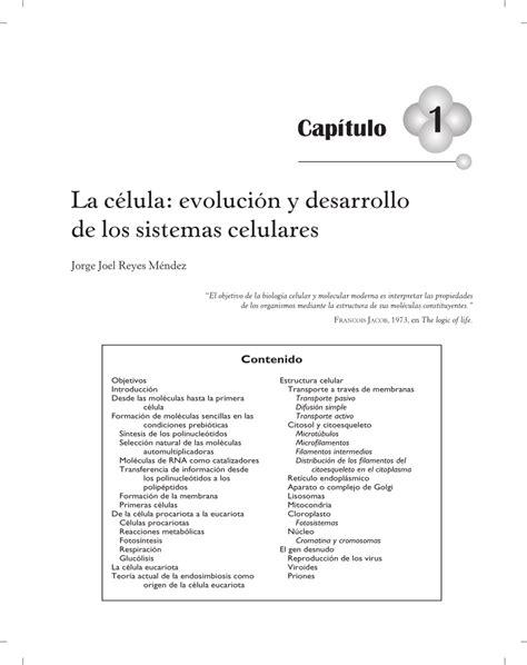 La célula: evolución y desarrollo de los...  PDF Download ...