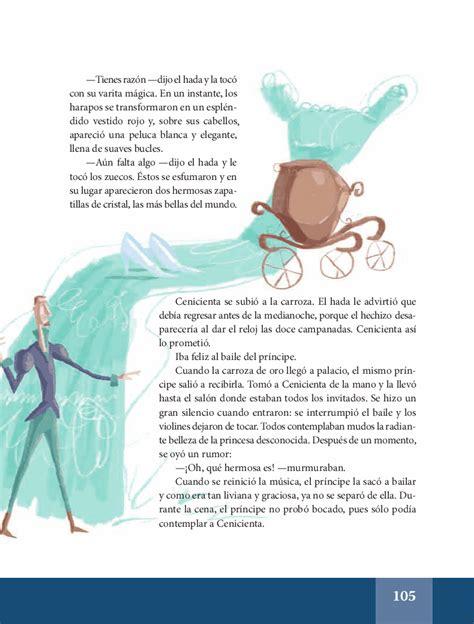 La Cenicienta - Español Lecturas 6to ~ Apoyo Primaria