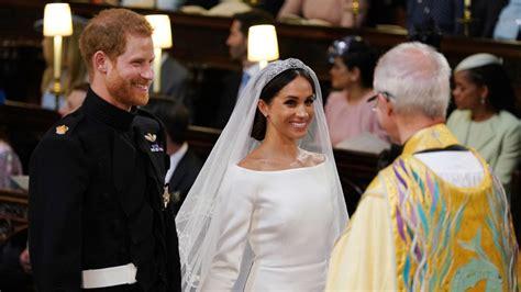 La ceremonia de la boda del príncipe Enrique y Meghan ...