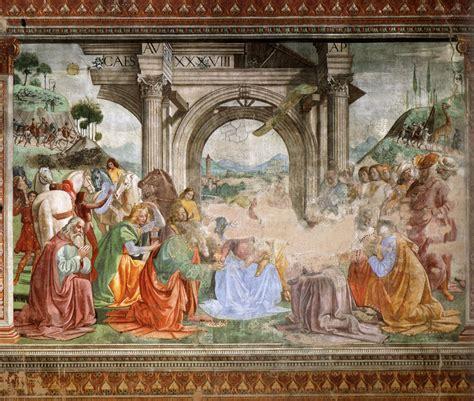 La Chapelle Tornabuoni   Fresque par Domenico Ghirlandaio