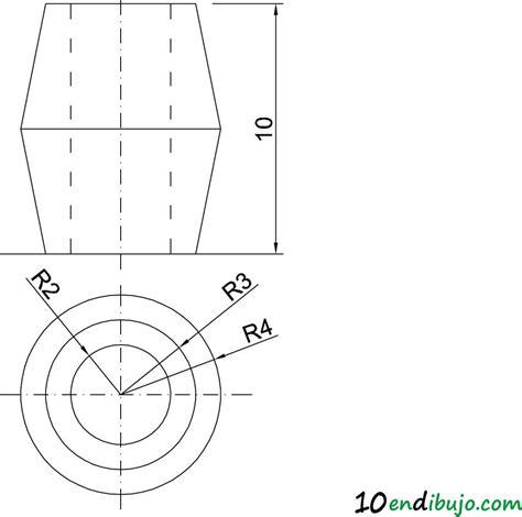 La circunferencia en Perspectiva Isométrica. Ejercicio ...