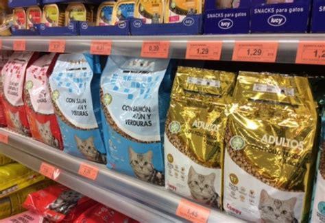 La comida de gatos de calidad es cara por el alto coste de ...