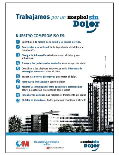 La Comisión «Hospital sin Dolor» en la estructura de ...