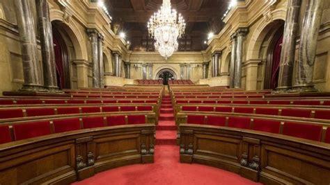 La compareixença del president de la Generalitat al ...