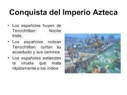 La conquista del imperio azteca e inca resumen ! - Brainly.lat