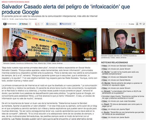 La consulta del doctor Casado: Infoxicación: intoxicación ...