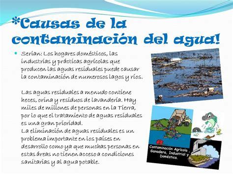 *La contaminación del Agua!   ppt video online descargar