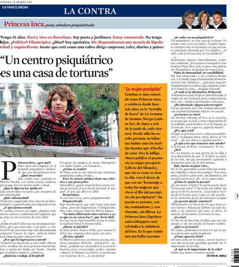 La Contra | La Vanguardia: Princesa Inca, poeta, soñadora ...