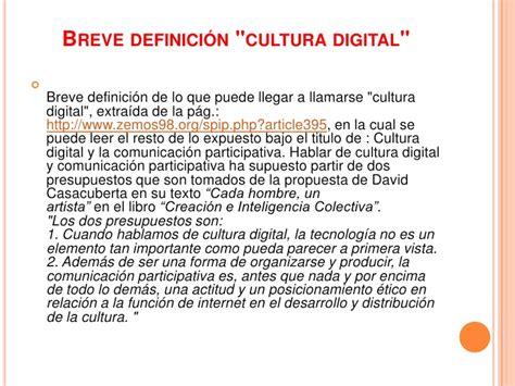La cultura digital y la producción de conocimiento