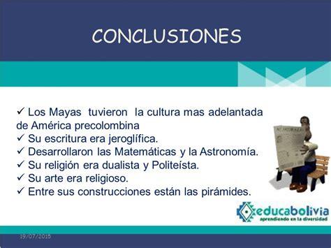 LA CULTURA MAYA 4° Secundaria Culturas americanas Historia ...