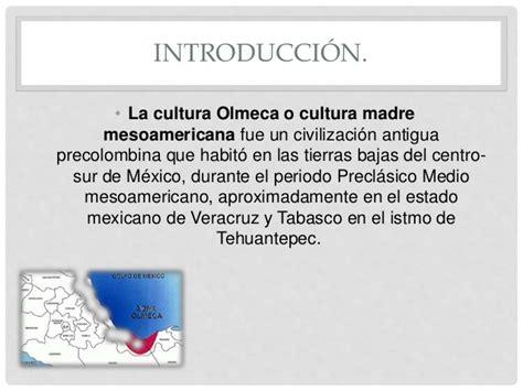 la cultura olmeca.