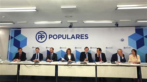 La cúpula del PP ratifica a Ángel Garrido y Pío García ...