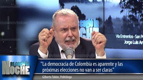 La democracia en Colombia es aparente y las próximas ...