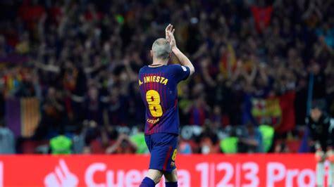 La despedida del Camp Nou a Iniesta: Estoy nervioso por el ...