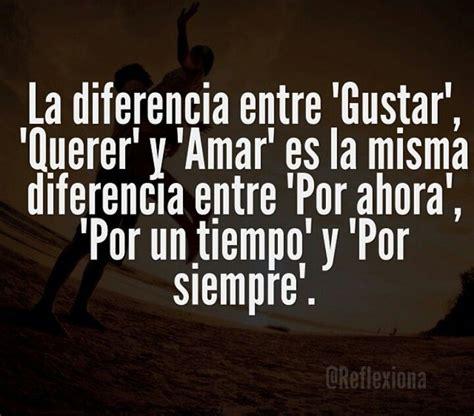 La diferencia entre 'Gustar', 'Querer', y 'Amar | #Quotes ...