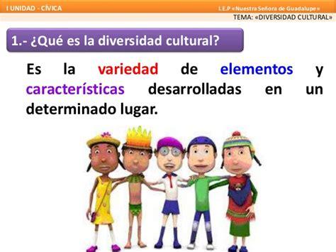 La diversidad cultural